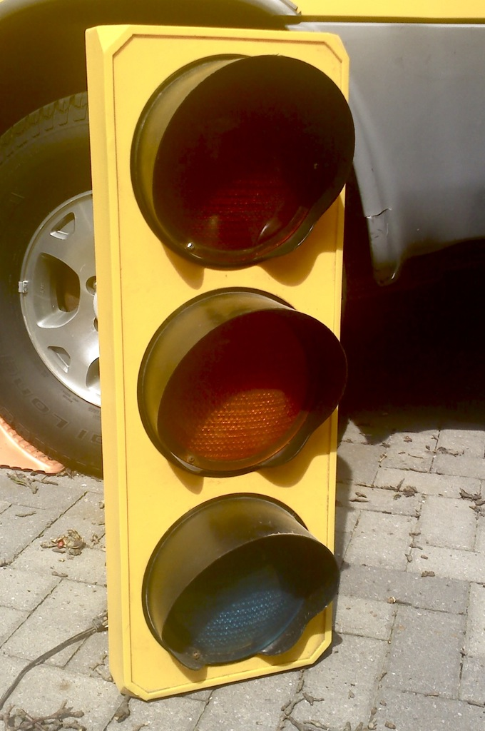 Traffic Light Decorations For The Garage Kitchen Or