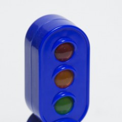 Blue Early Learning Centre HappyLand electric 2-sided signal from England