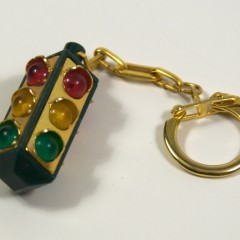 Plastic 4-way keychain from the 1960s