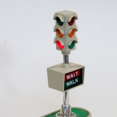 Buddy L 4-way 3-light battery operated signal – 1967