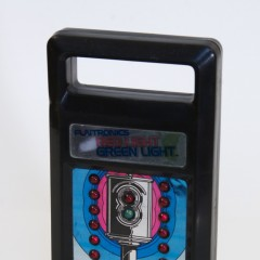 Mattel Funtronics Red Light Green Light battery operated handheld game from 1979. I've had this since I was about 8 years old.