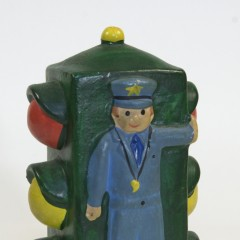 Ceramic Coin Bank - At about 8 years old, while on vacation, my parents said I could buy this or a squirt gun. Stupidly, I chose the squirt gun. Smartly, my parents bought the bank anyway and gave it to me as a gift for Easter.