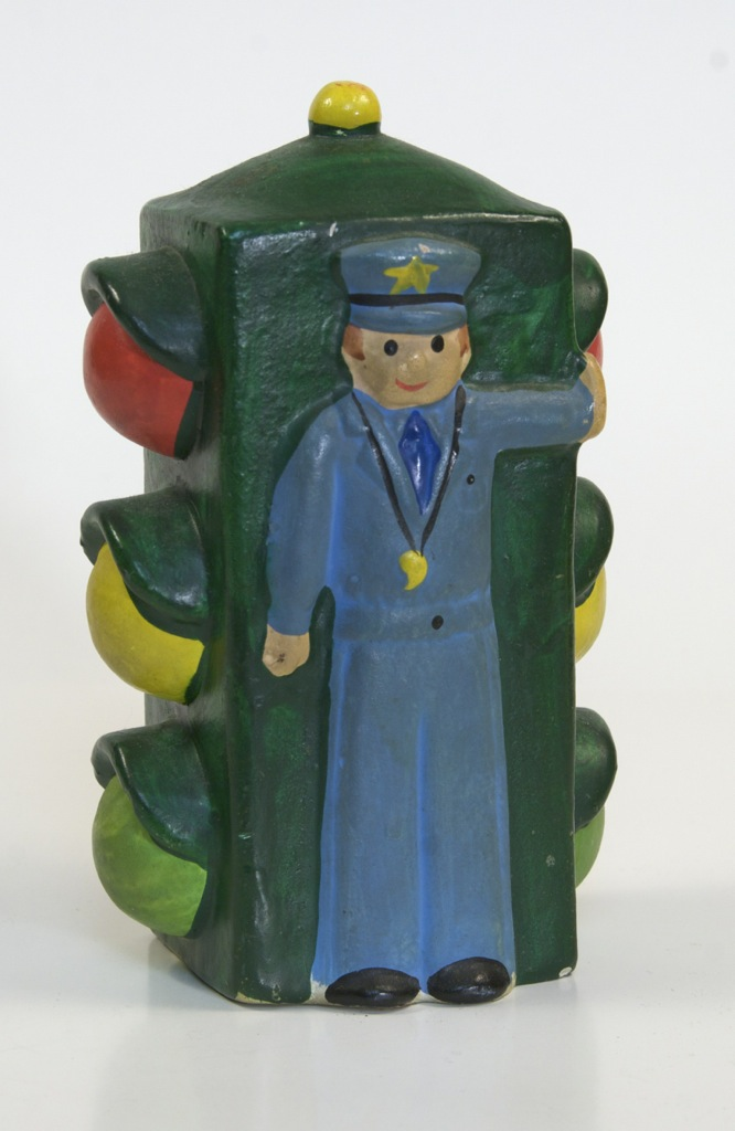 Ceramic Traffic Light Bank