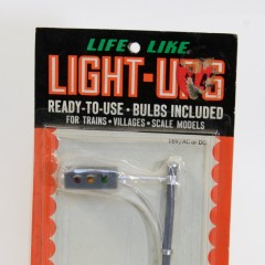 Life-Like Light-Ups #S1212K horizontal HO scale blinking plastic traffic signa