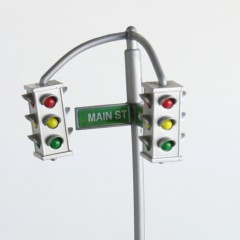 "The Simpsons World of Springfield dual 4-way signal from ""Main Street"" play set"