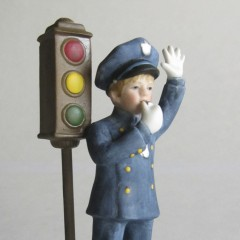"""The McClellands Reco Collection  """"The Policeman"""" Figurine"""