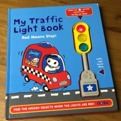 """My Traffic Light Book - Red Means Stop"""