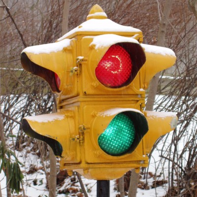 image for a collection of real traffic lights