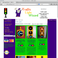 Traffic Light Wizard, Sales of traffic signals and parts
