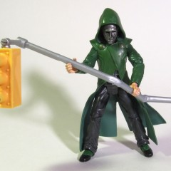 Dr. Doom with traffic light from 2006 Fantastic 4 Toy Biz Series 4 collection