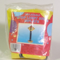 Inflatable Signal Ahead sign #IN356, measures 30 inches tall
