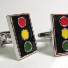 Metal cufflinks from CuffCrazy.com