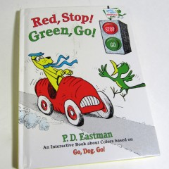 """Red, Stop! Green, Go!"" pop-up book by P. D. Eastman"