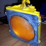 Checker traffic signal