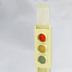 Playmobil sliding traffic light, from set #3204 Geobra 1974