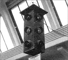 William Potts' 4-way signal, c.1920. Photo credit: unknown.