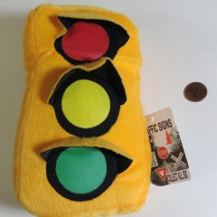Small plush 2-sided pillow