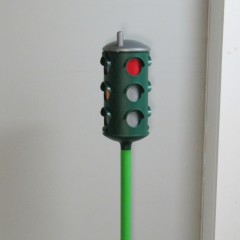 Italtrike plastic manually advanced traffic signal
