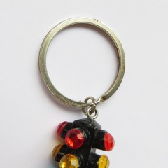 Plastic 4-way keychain