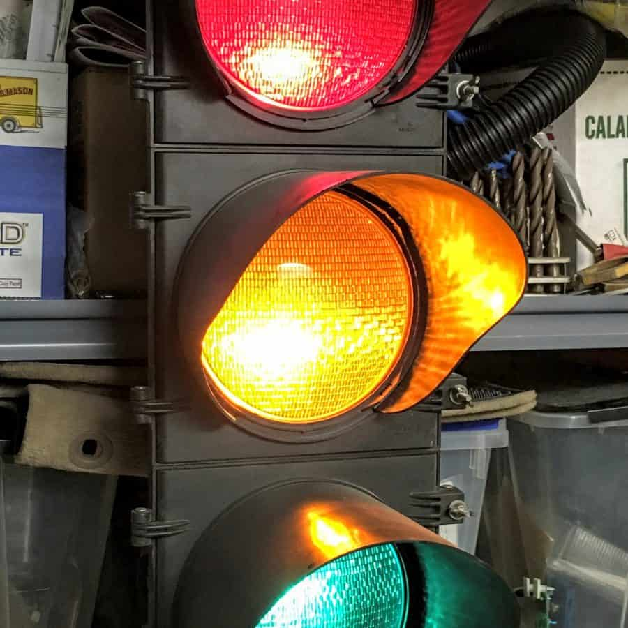 Real Traffic Signals, both modern and vintage, in my collection. for Real Traffic Lights  181pct