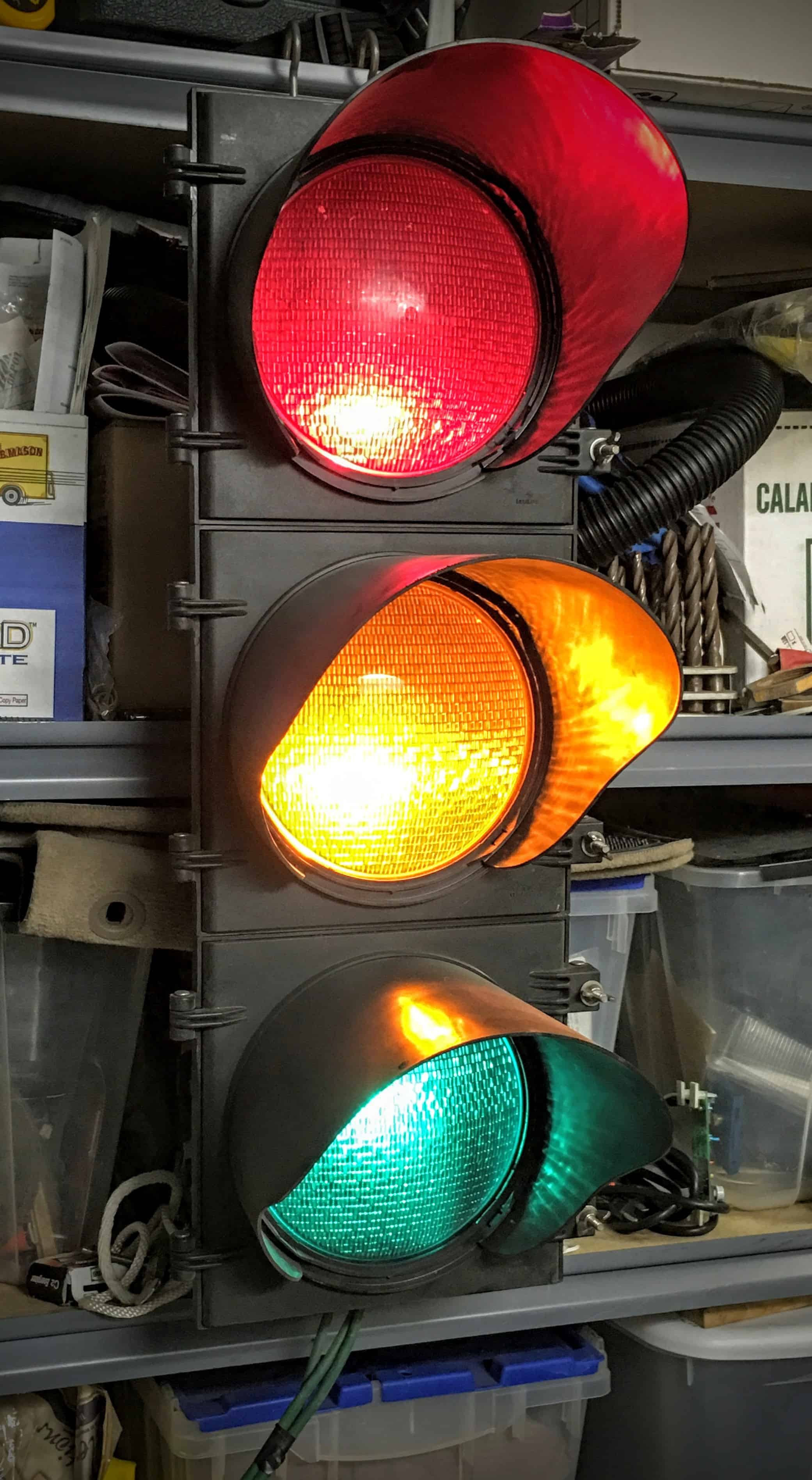 My Light And Airy Living Room Transformation: Real Traffic Lights In My Collection Make Great