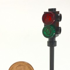 Lego 2-section 3-way traffic light