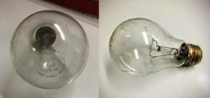 Older 116 watt traffic signal bulb