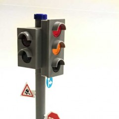 Dickie Toys City Traffic Light