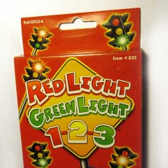 Red Light Green Light 1-2-3 Card Game, Item 835 by Endless Games