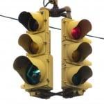 4-way traffic light cluster