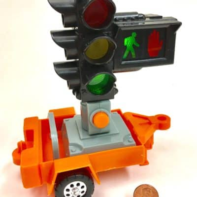 Traffic Signal Trailer from Tonka Roadway Rig Police Truck Play Set